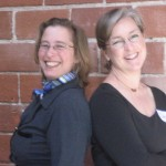 Beth Barany and Cheryl Liquori, Co-Founders Breakfast Blogging Club