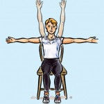 Kitchen Chair Exercises
