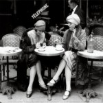 Women-Sitting-at-a-Cafe-Terrace-Print-C10121178